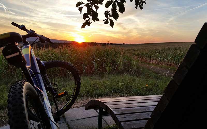 Umgebung mit dem Mountainbike erkunden
