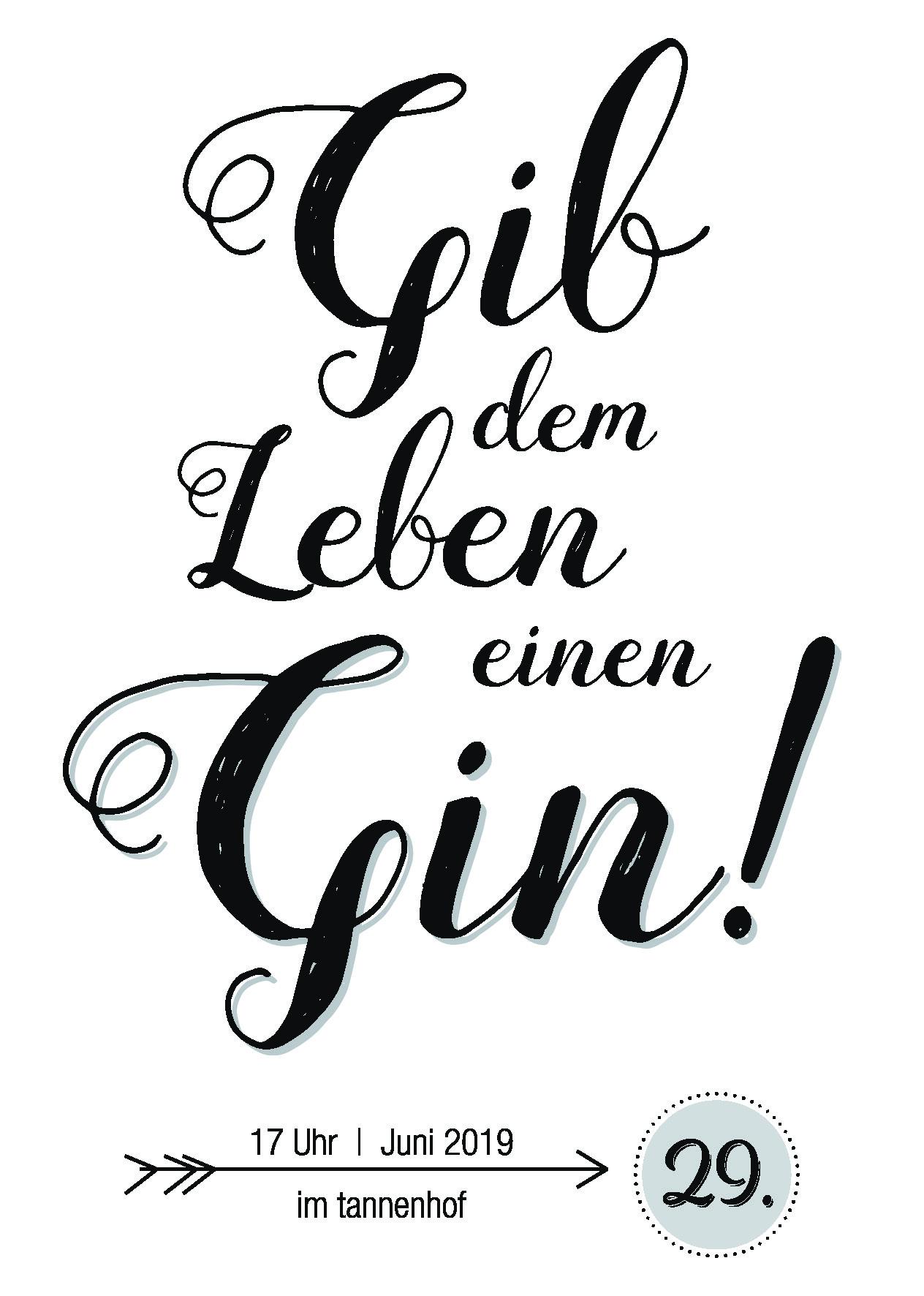 Gin Tasting Naturresort tannenhof